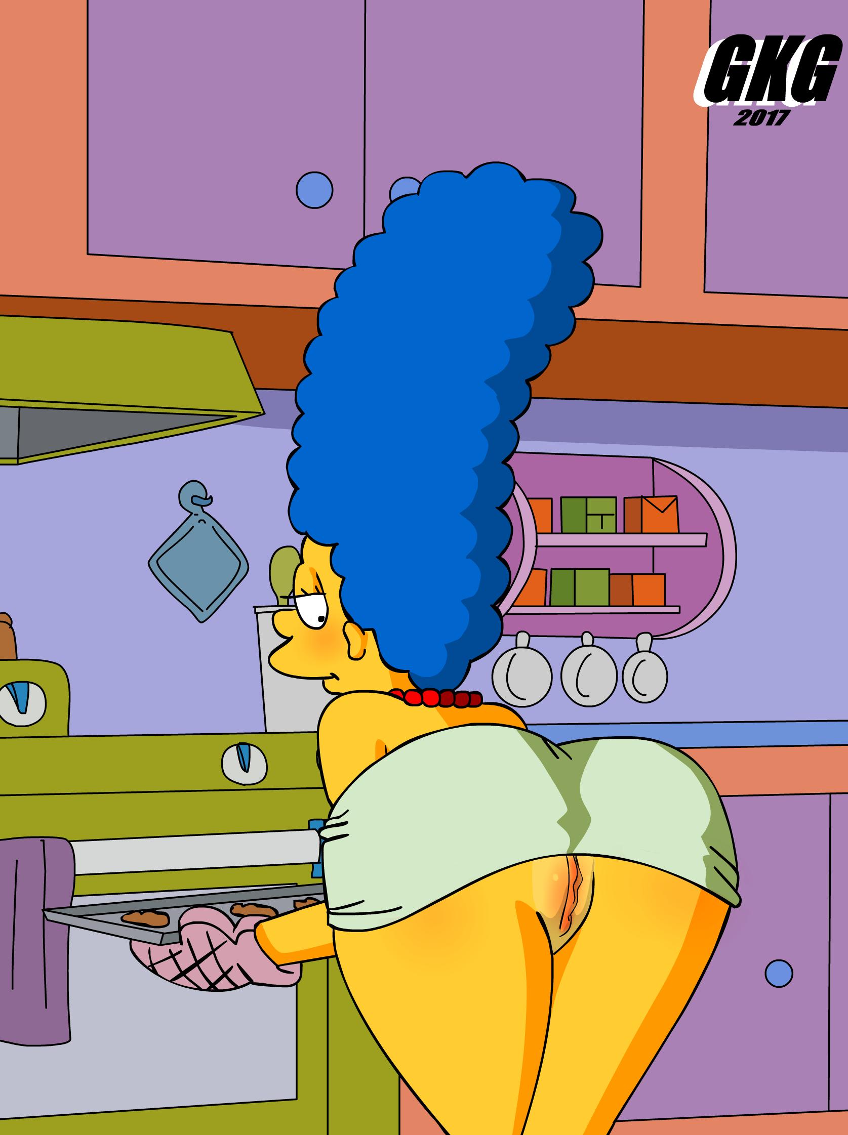 Marge Simpson Xxx
